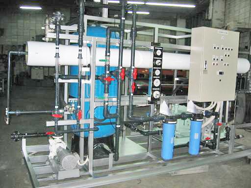 40M3/日海水淡水化装置
