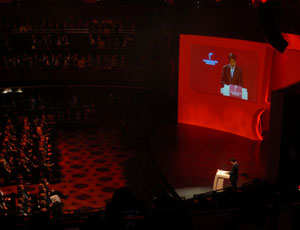 ハノーバーメッセ2008 安倍元首相のスピーチ
